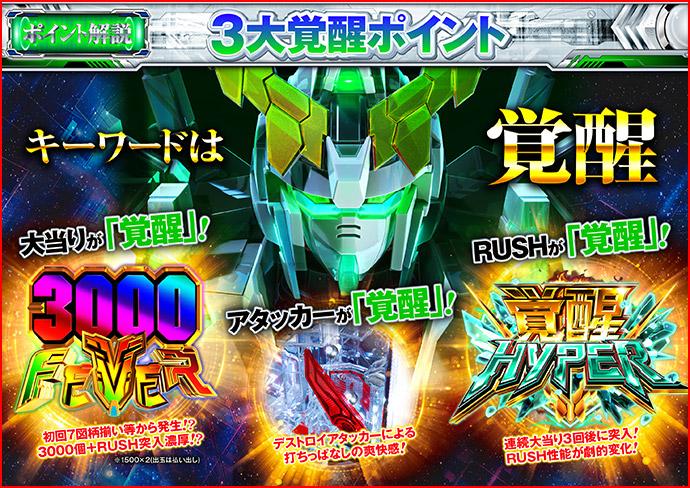3000FEVER&覚醒HYPER